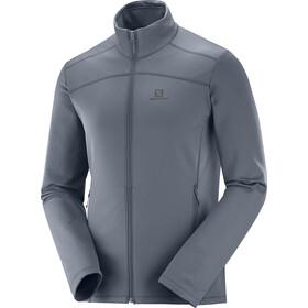 Salomon Discovery LT FZ Jacket Herren ebony